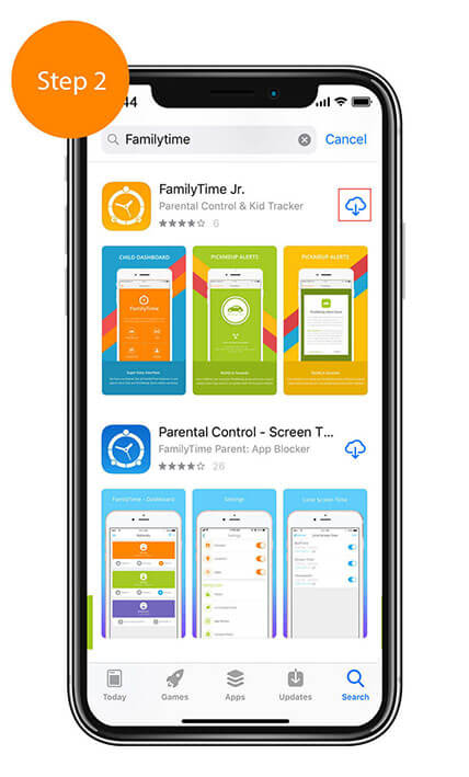 Child App Installation Guide For iOS