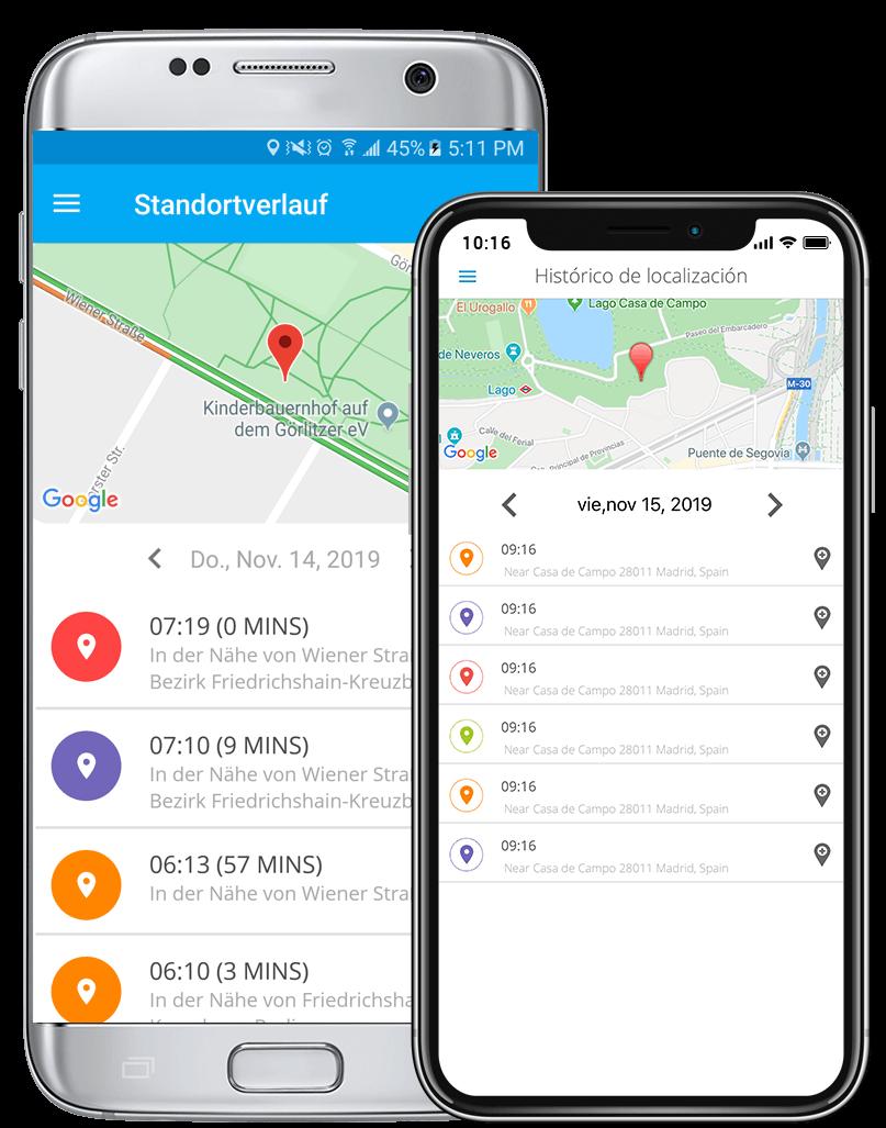 handy verfolgen app