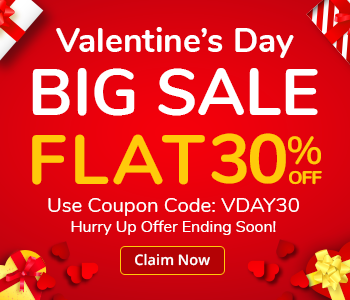 We're celebrating this Valentine's Day by showing our love with 30% off