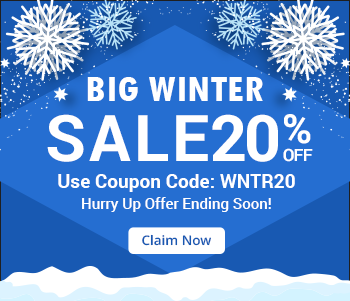 The big Winter Sale is on Enjoy Flat 20% Off