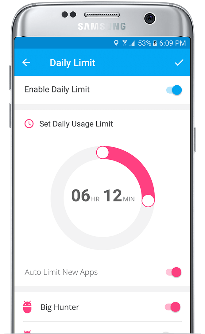 FamilyTime Daily Limit- Limit Screen Time by App Usage