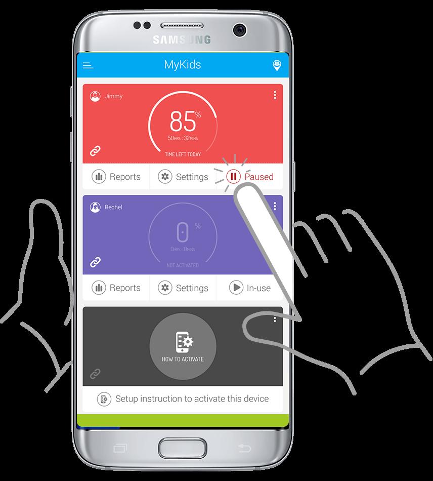 Family Pause - Instant Phone Lock - FamilyTime