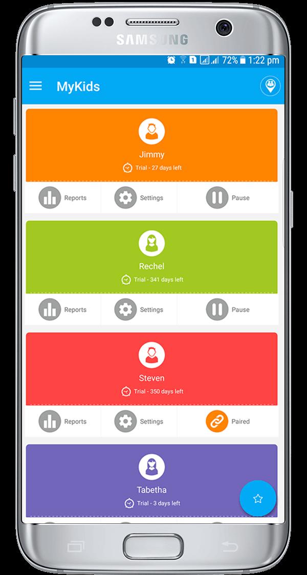 FamilyTime - Dashboard
